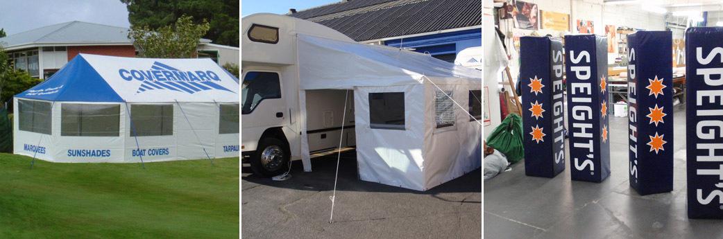Canvas Repair Company | Caravan Porch Awnings Dunedin